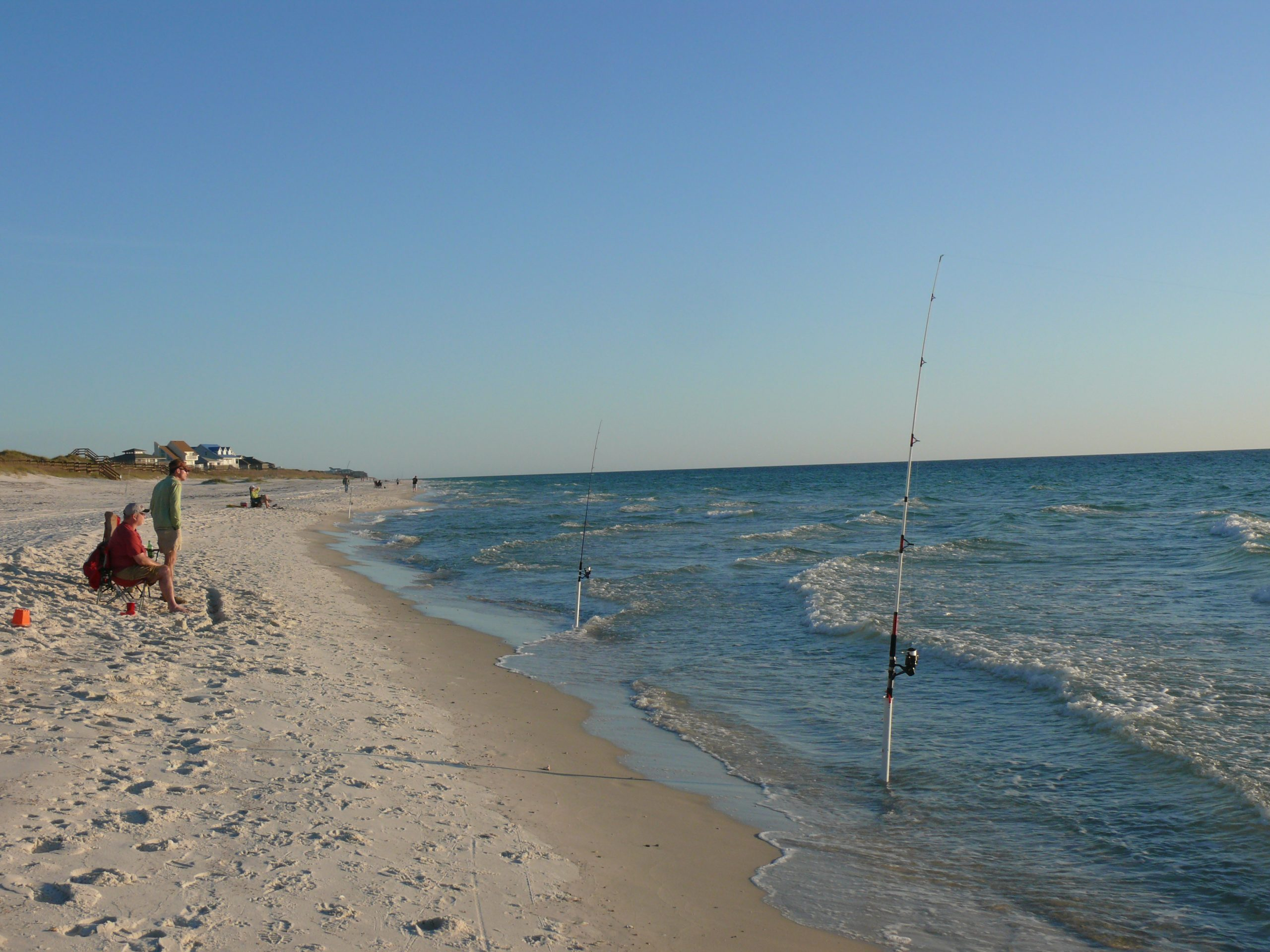 catch whiting from beach
