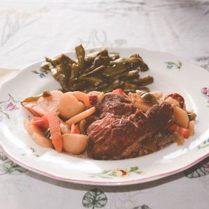 Perfect Crockpot Venison Roast