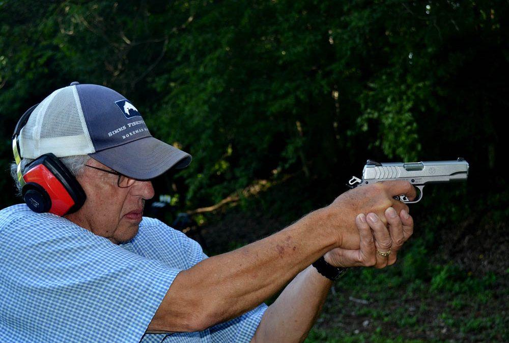 Ruger 9mm SR1911 pistol