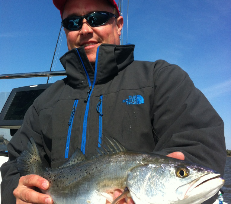 Cold Weather Fishing for Speckled Trout