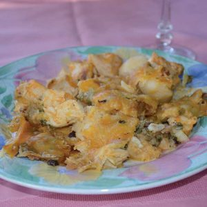 Buffalo Wild Turkey and Potato Casserole