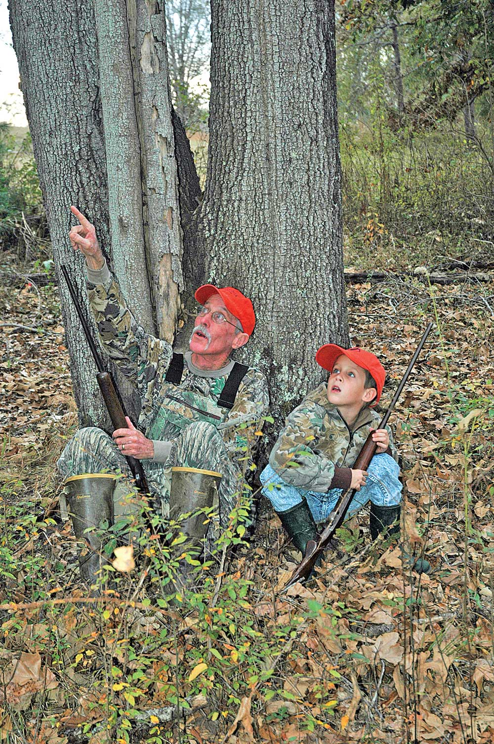 Squirrel hunting is helpful for young hunters.
