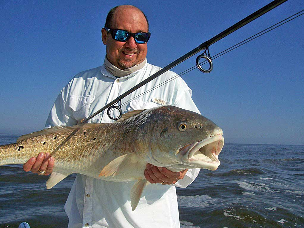 A great time inshore fishing.