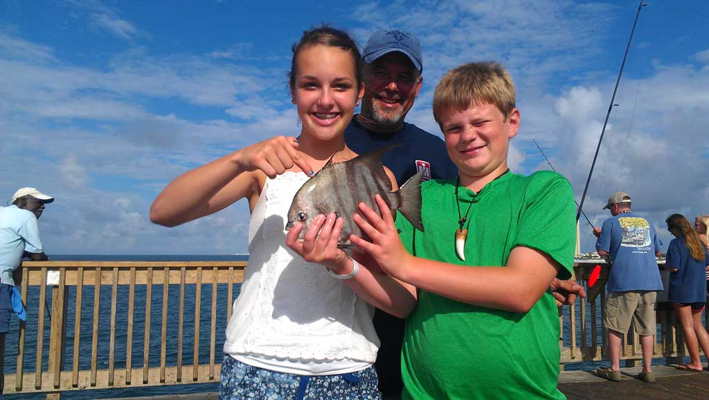 Pier shore report early summer angling sessions great for Panama city beach pier fishing report