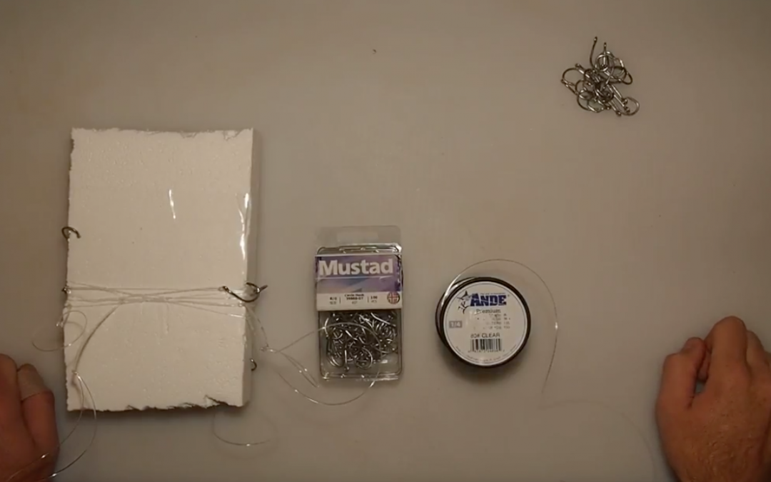 How-To Tie (and store) A Two Hook Rig