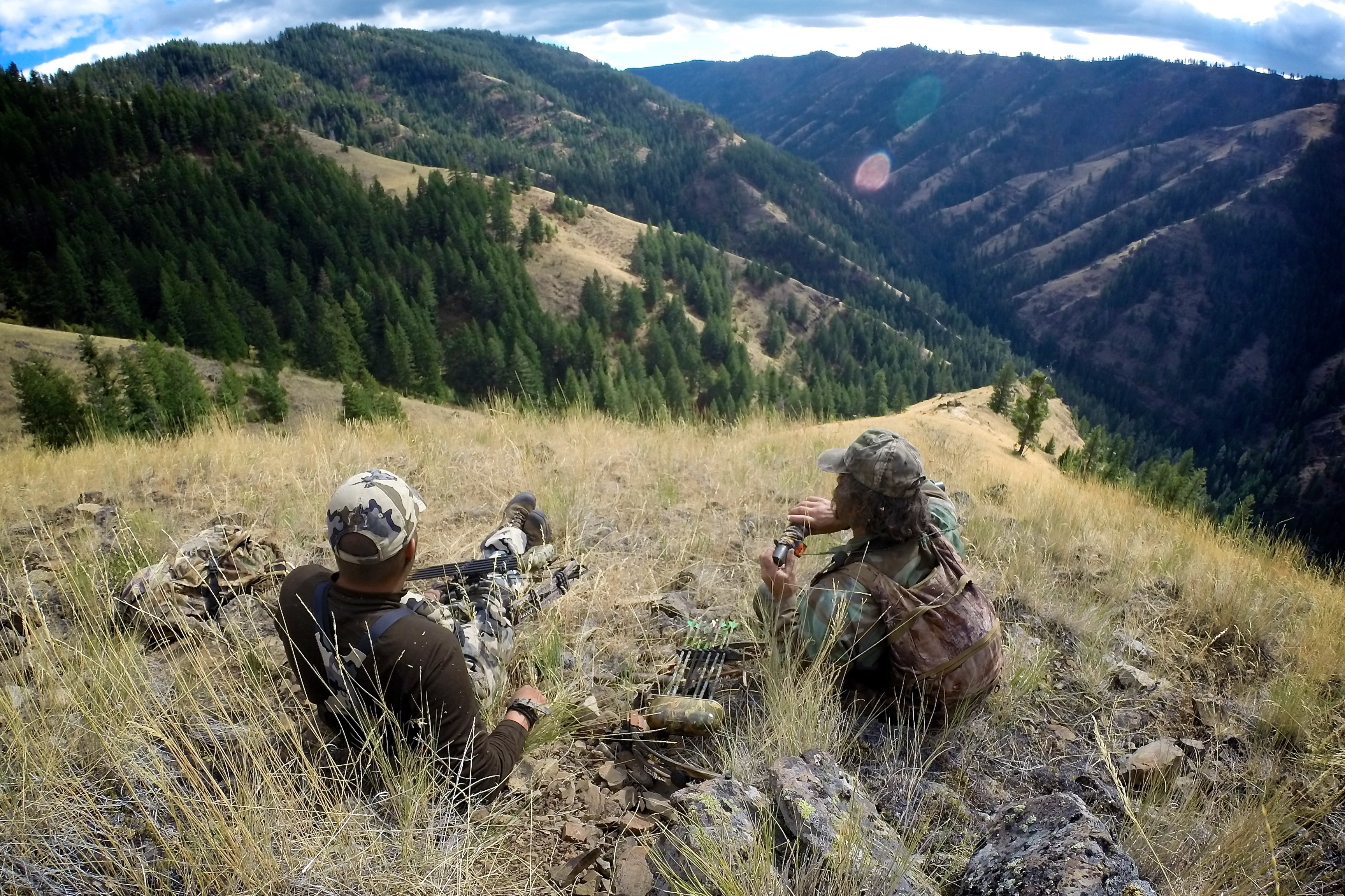 Pro Tip for Acute Mountain sickness: When hunting in higher elevation, try staying at a lower elevation you are hunting, but higher than what you normally stay in.