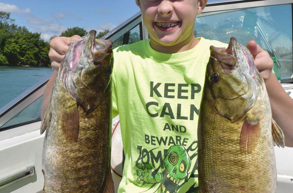 Summer Smallmouth Bass
