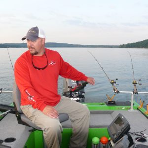 Trolling for Crappie in Open Water