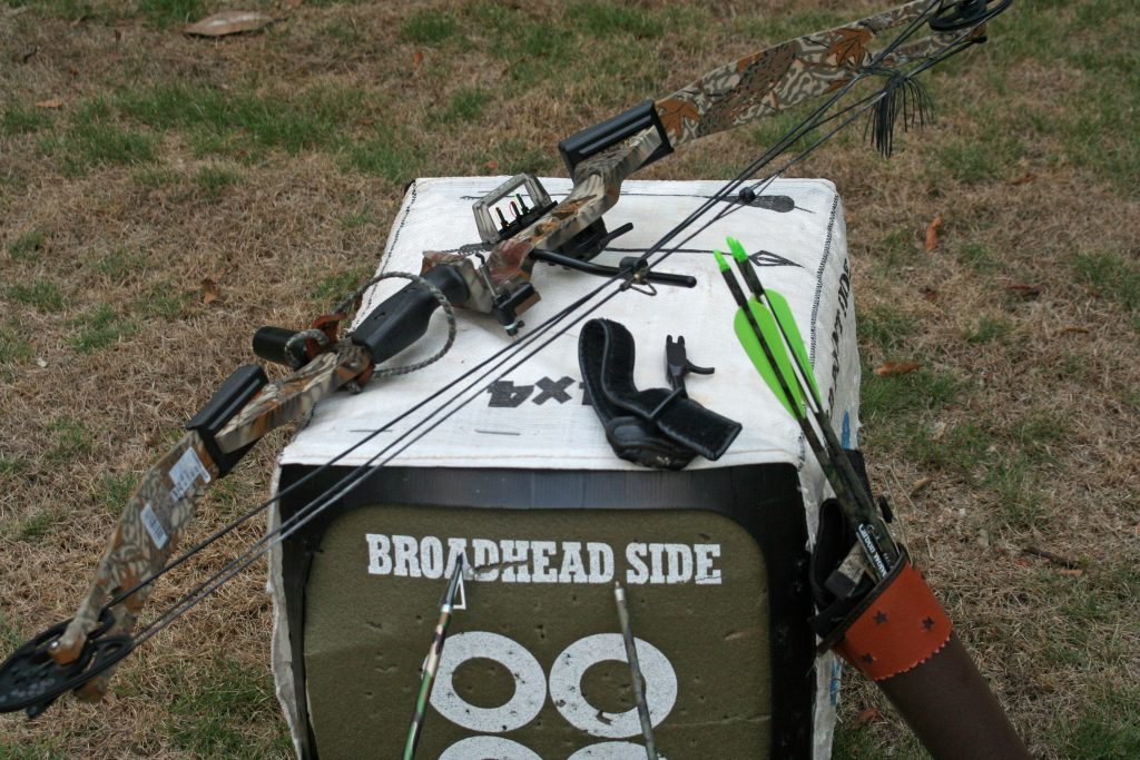 Make sure you have the right equipment for archery target practice