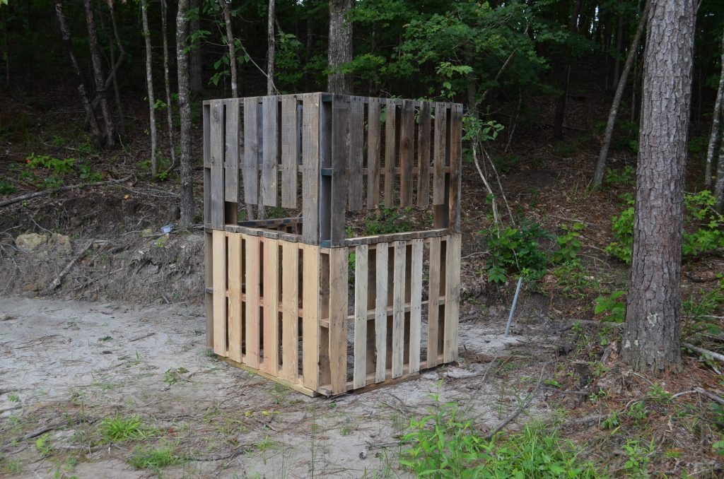 the pallet blind a great hunting blind practically free