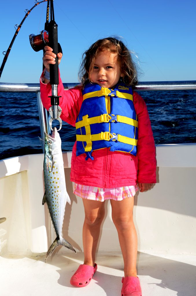 Another prime advantage of fishing for Spanish mackerel is that they are schooling fish. When one is caught, others will follow in short order.