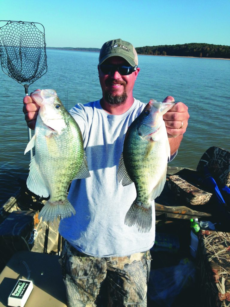 This important element is especially crucial in early fall fishing for crappie, because the crappie are not all to be found in just a certain place.