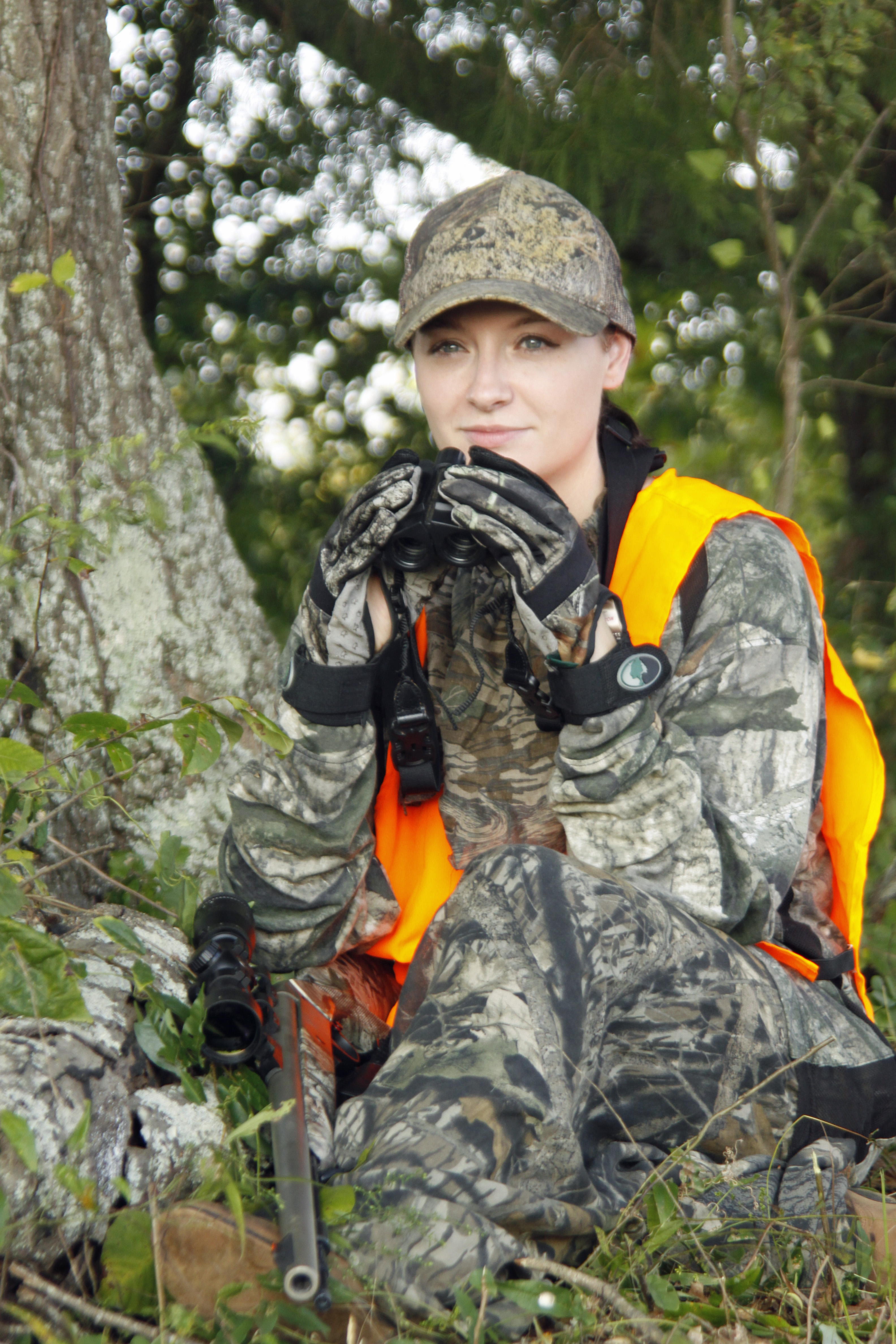 Look for a does bedding for to find the bucks when hunting the rut.