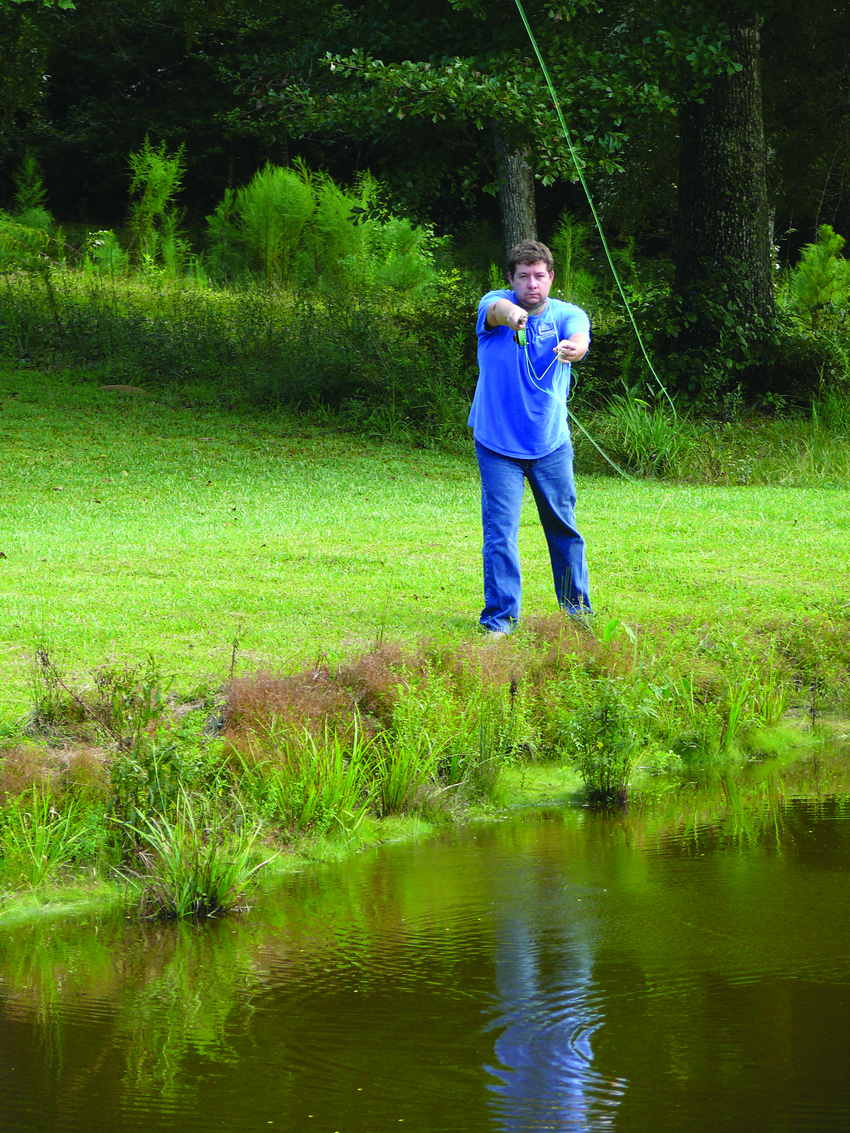Fly fishing basics are a necessity when first learning to fly fish