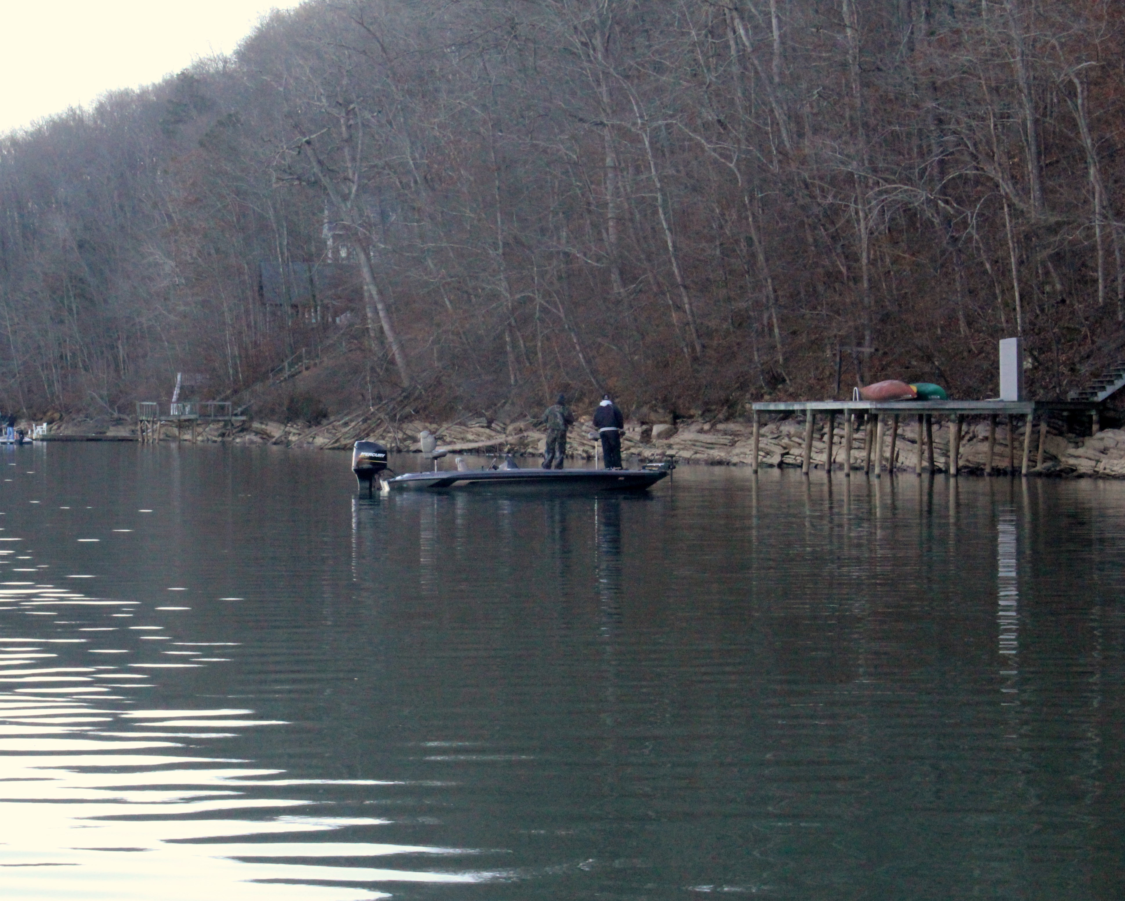 When fishing for crappie in the fall, check out Weiss Lake for some great fishing opportunities.