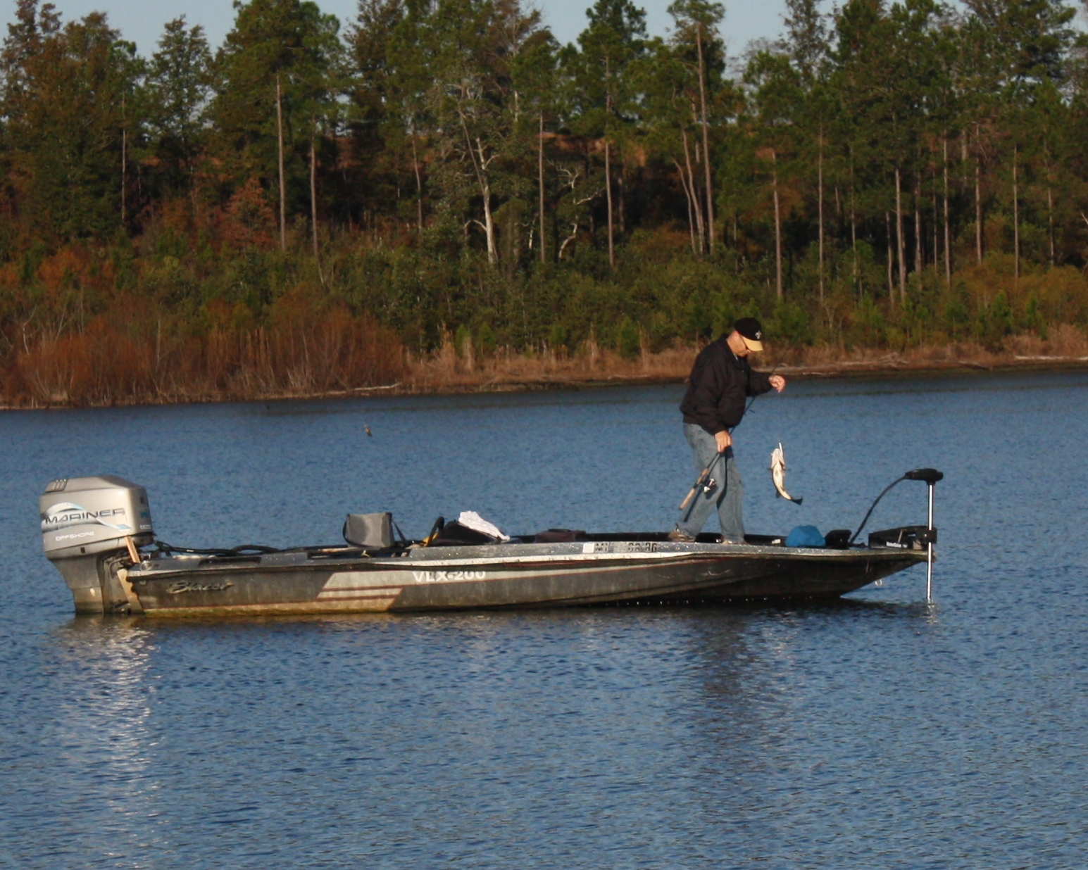 Avid anglers know this also signals the start of some of the best winter bass fishing on area lakes.