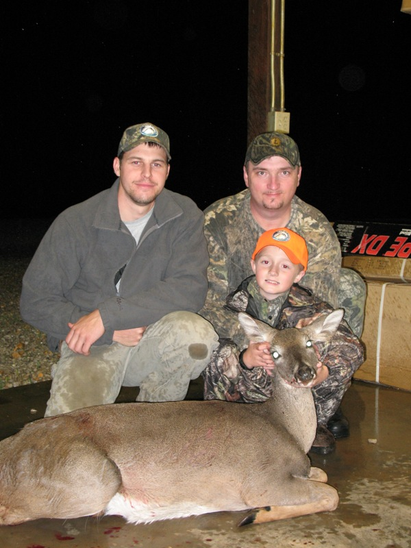 Take a break from preparing for next deer season by taking your kid hunting!