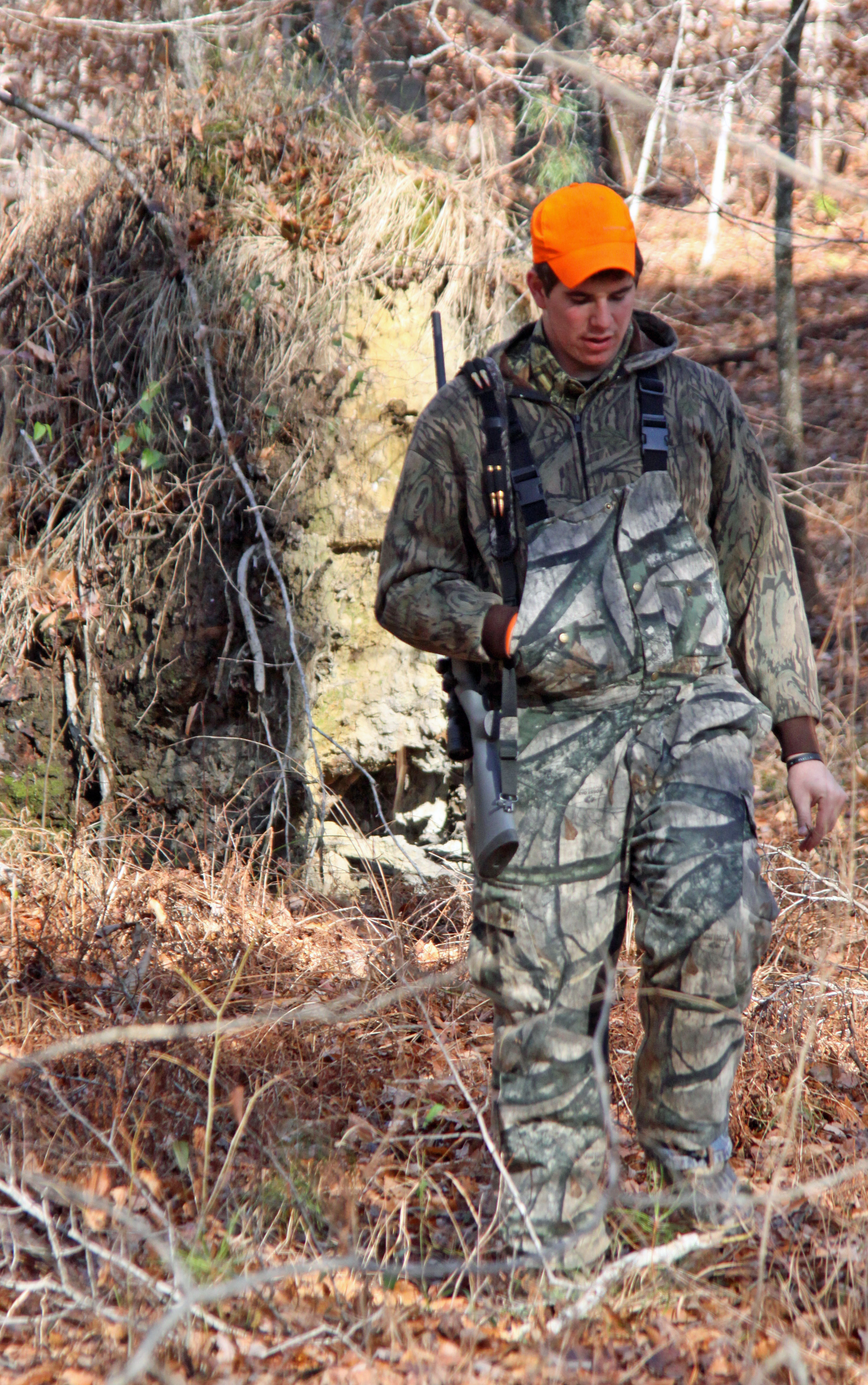 Methods for Late Season Hunting include staying on the move in during the rain