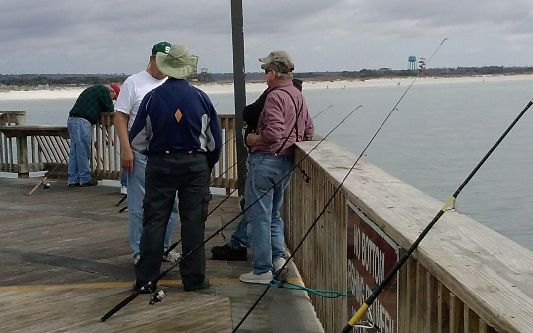Pier Fishing Tips for February