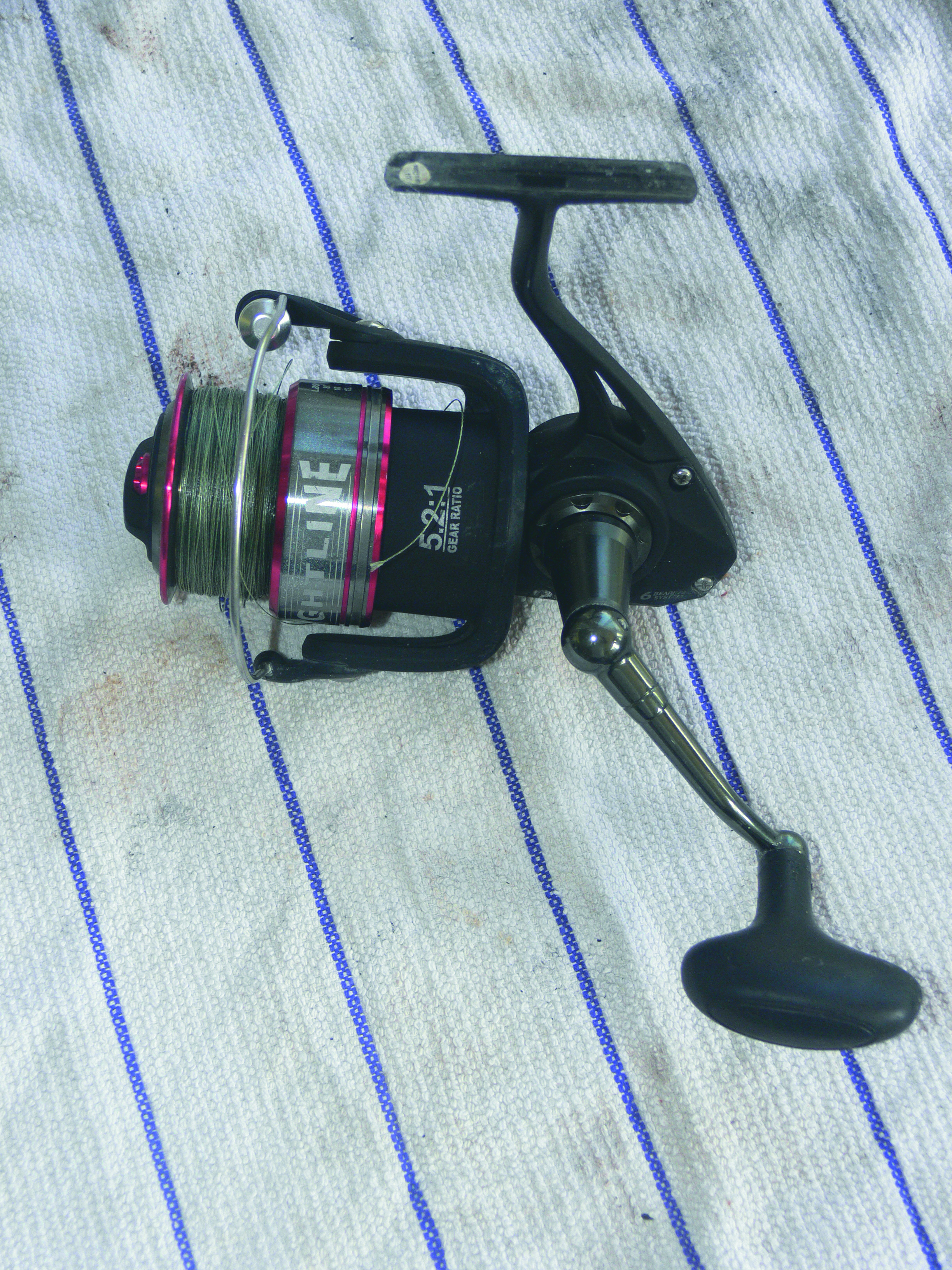 Step eleven to maintain your spinning reel