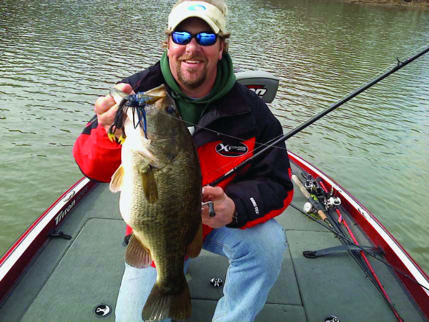 Cold weather bass fishing can lead to success