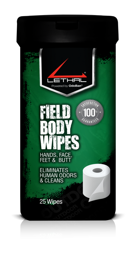 Check out Lethal field wipes for new gear for February 2018.