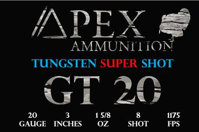 Apex has great ammunition for your shotgun hunting gear.