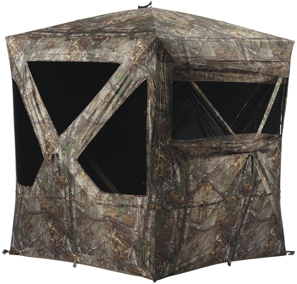 This ground blind is great hunting gear.