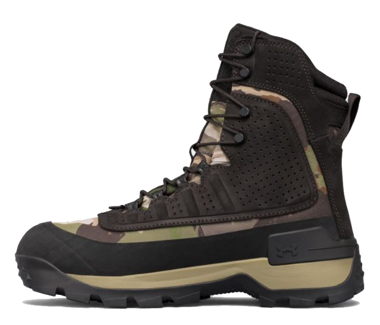 Check out Under Armour's brow tine hunting boots for new gear for February 2018.