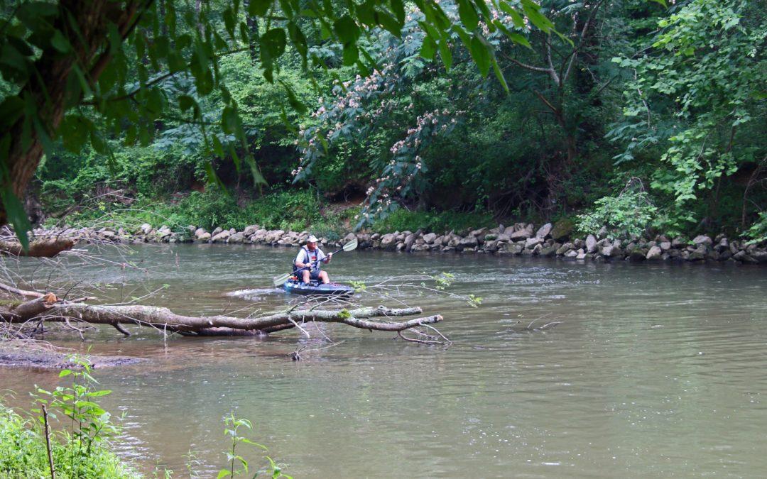 Kayak Fishing in Great Small Waters