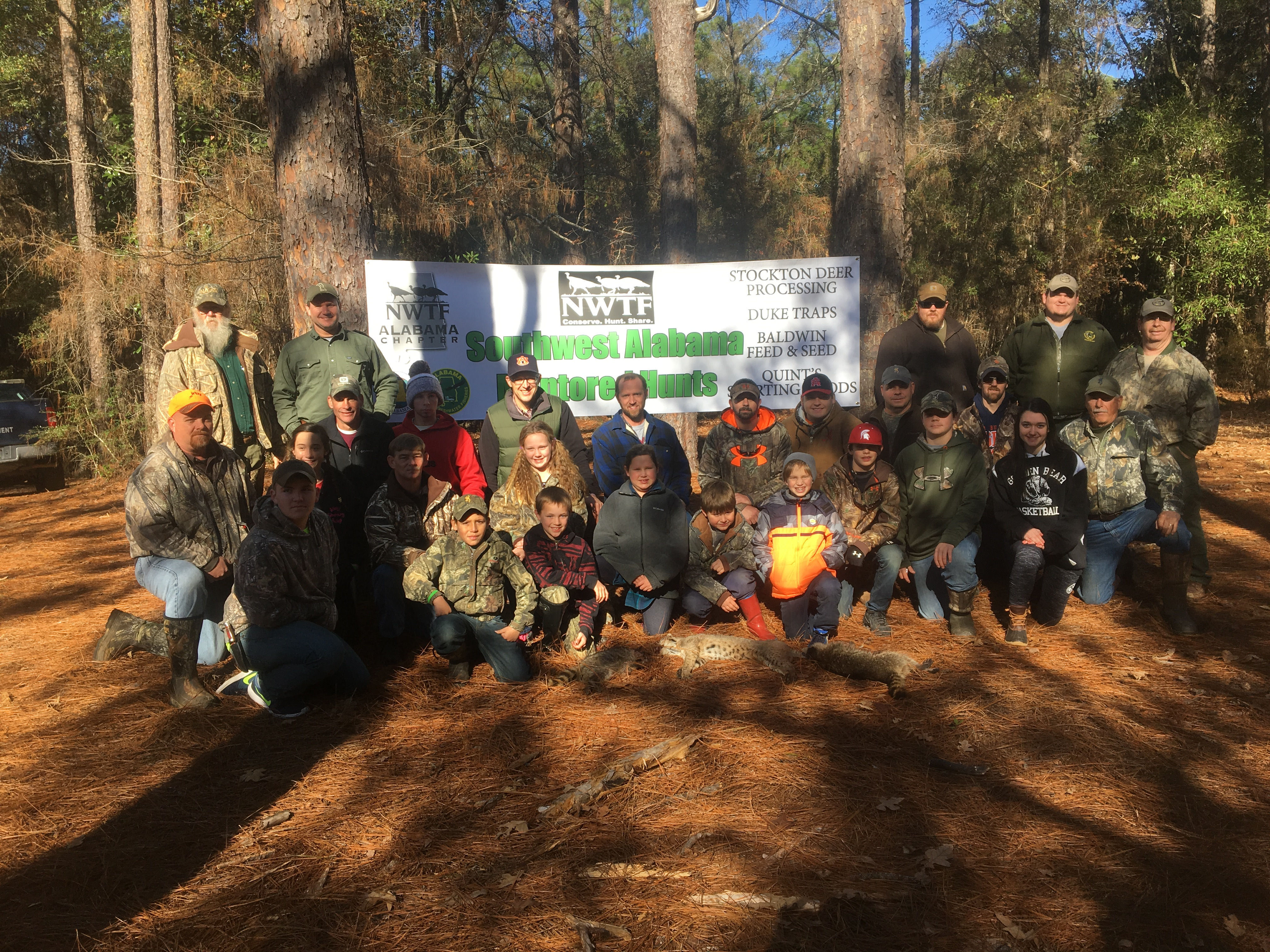 In addition to teaching adult new hunters, the youth are also being included in the chapter's outreach plans.