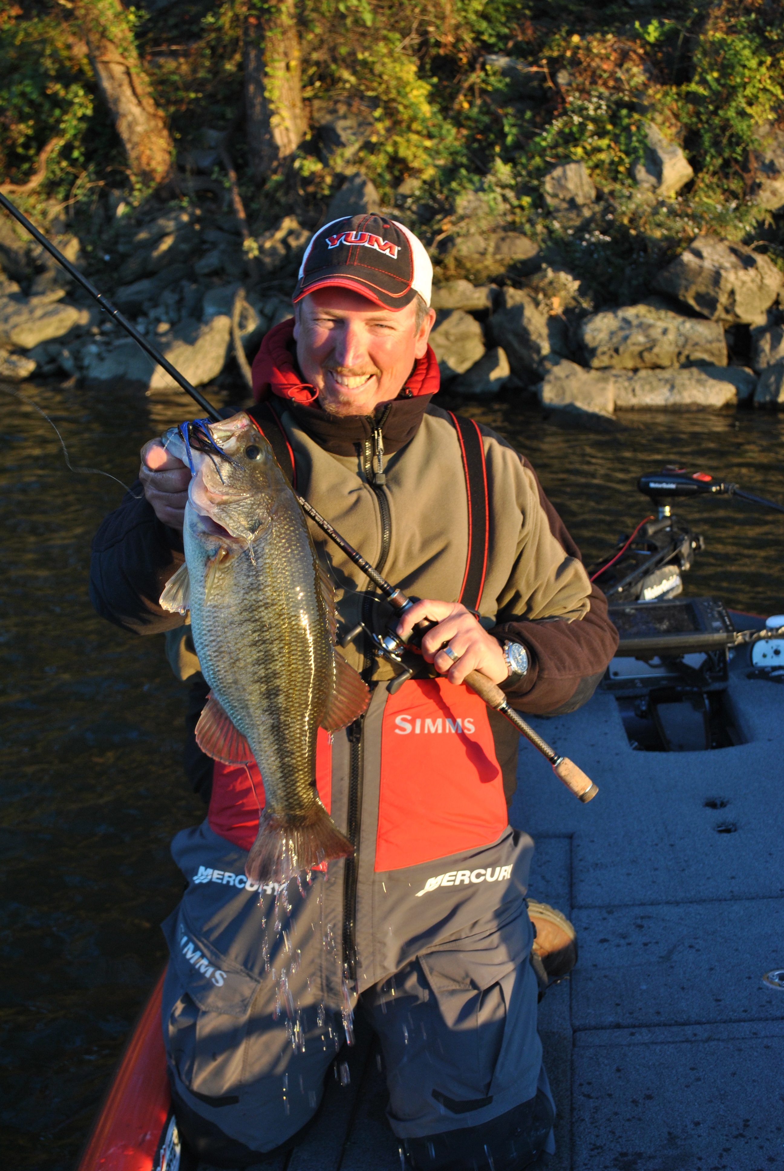 """""""I enjoy Wheeler Lake fishing mainly in the winter and into the spring,"""" he said. """"It's still the best place to catch really big cats in my opinion."""""""