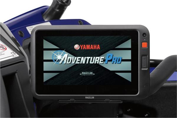 The gadget lover is going to go crazy over the new Yamaha Adventure Pro GPS