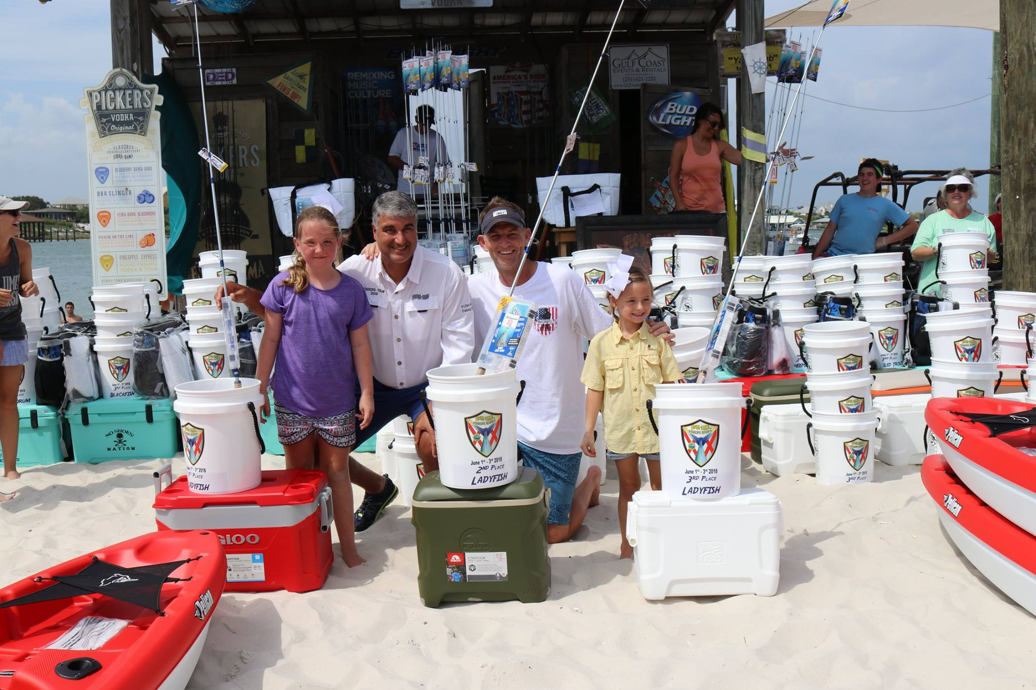 Flora-Bama's Gulf Coast Fishing Rodeo is a fun event for the entire family.