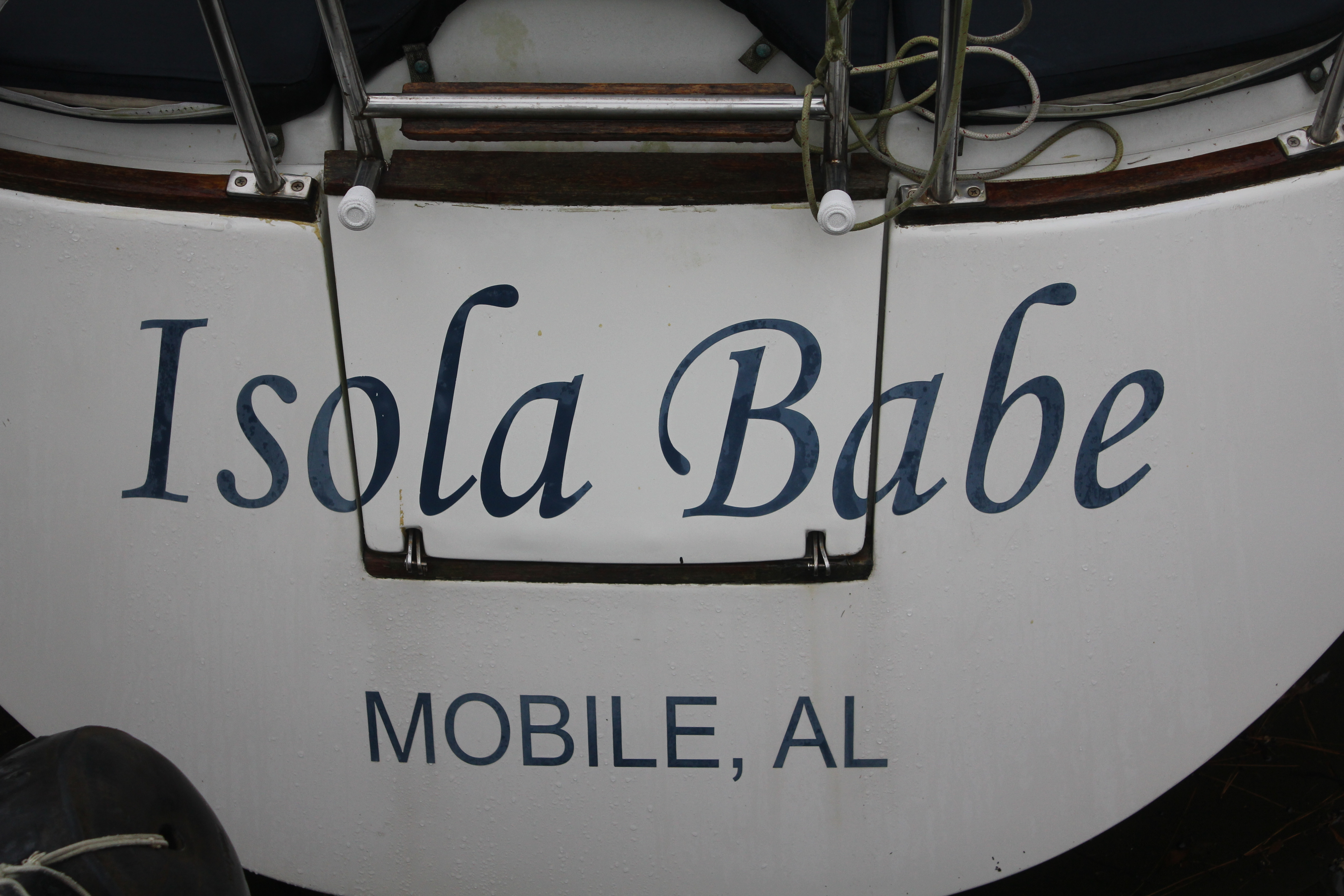 Giving your new boat a name can be a fun process. Make sure it's a name you can live with!