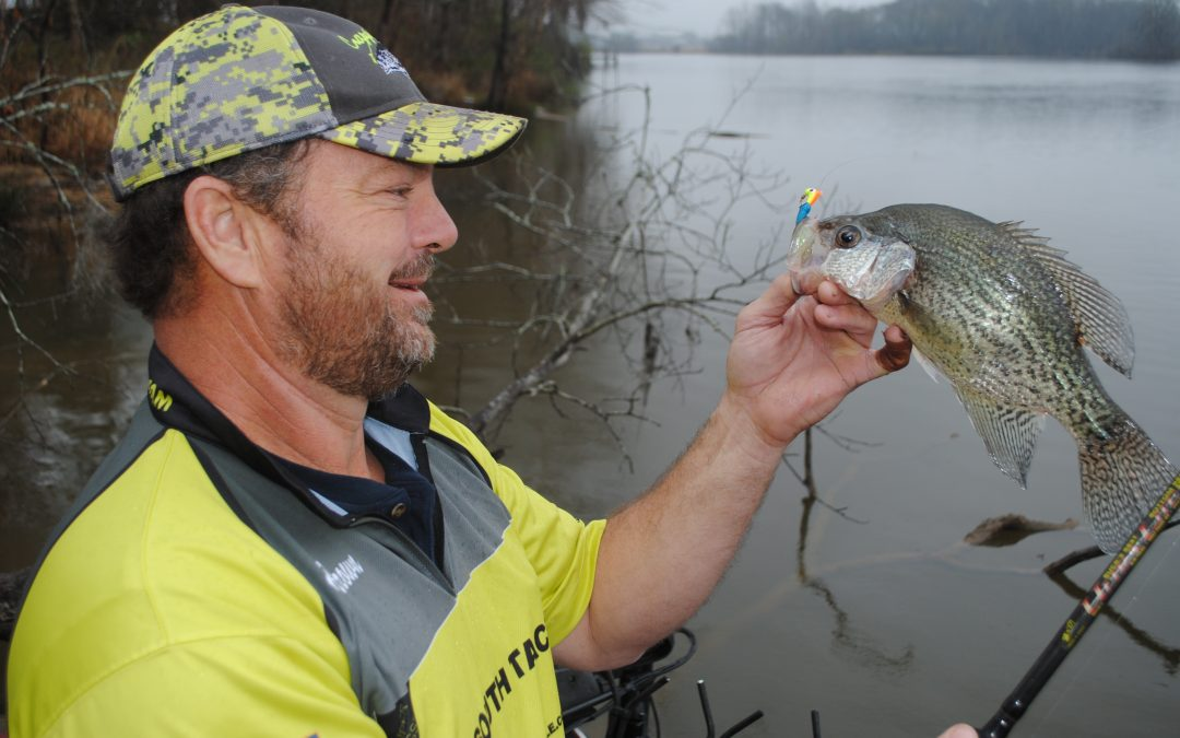Spring Crappie on the Beds