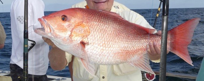 Red Snapper Bottom Fishing – Boat Positioning