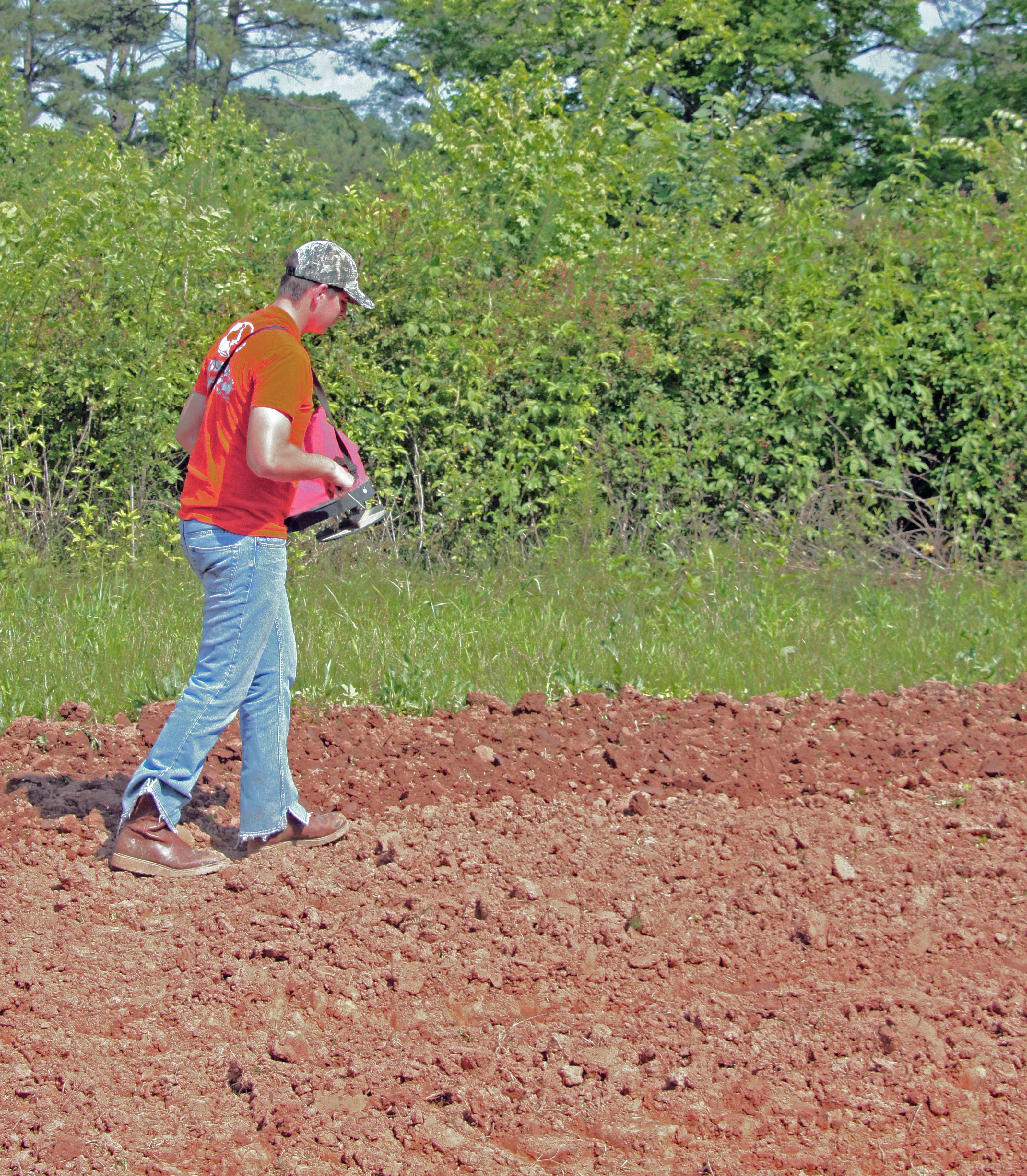 hand-seeder