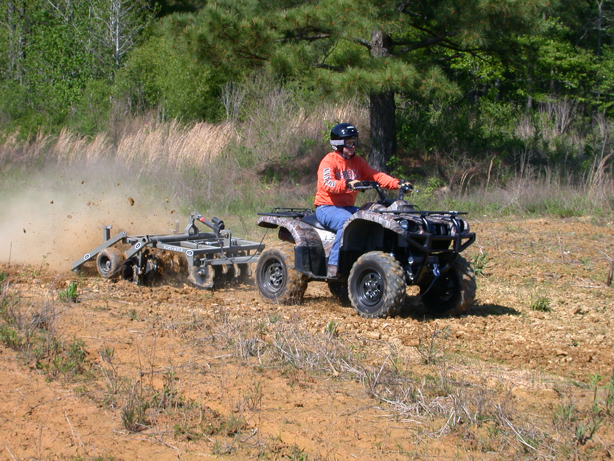 choosing food plot equipment ATV