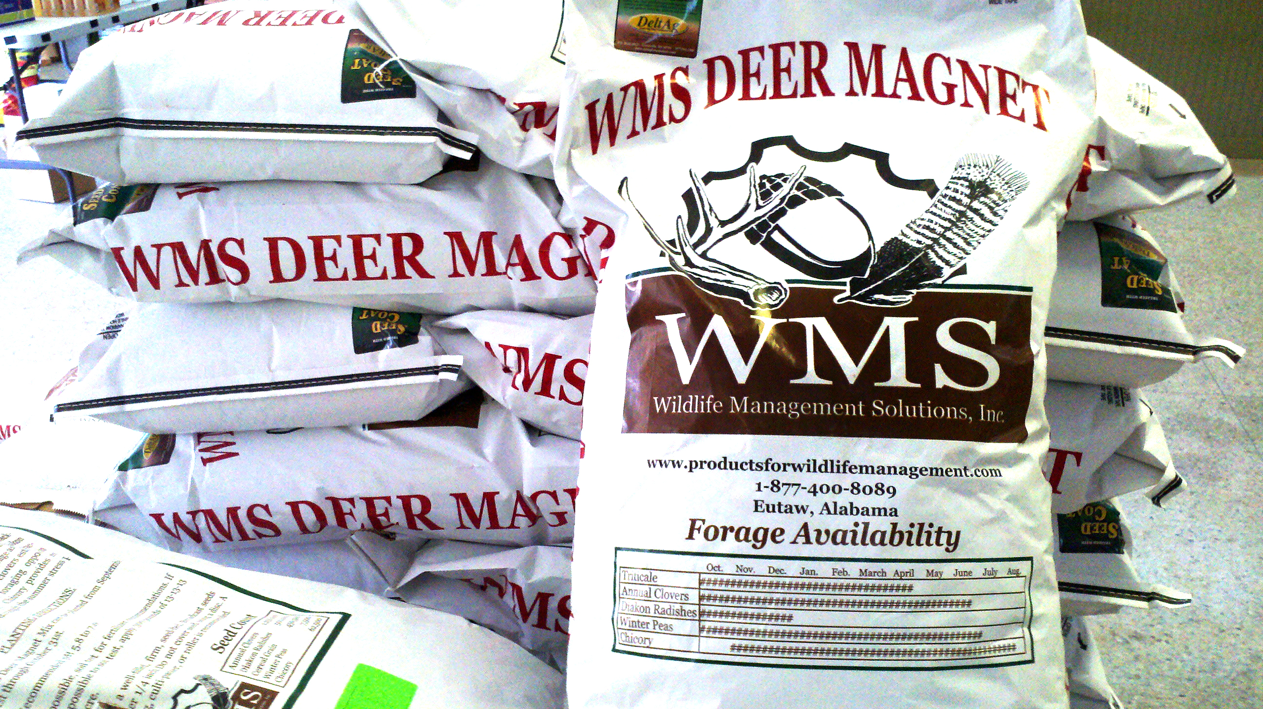 food plots for deer in the woods Deer Magnet