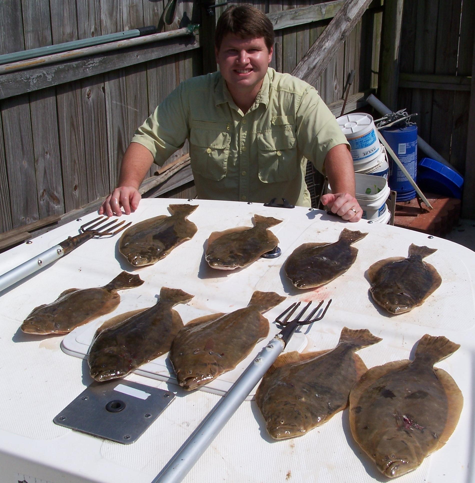 night flounder gigging