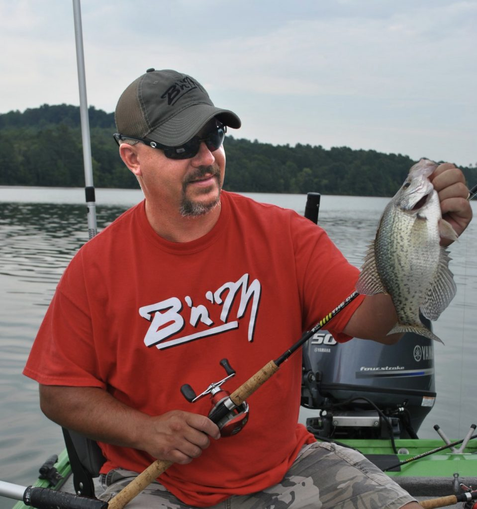 summer crappie fishing with brad whitehead