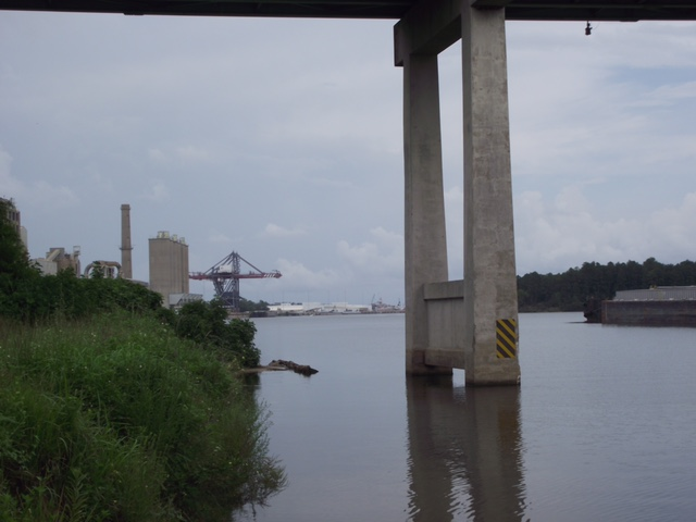 Theodore industrial canal