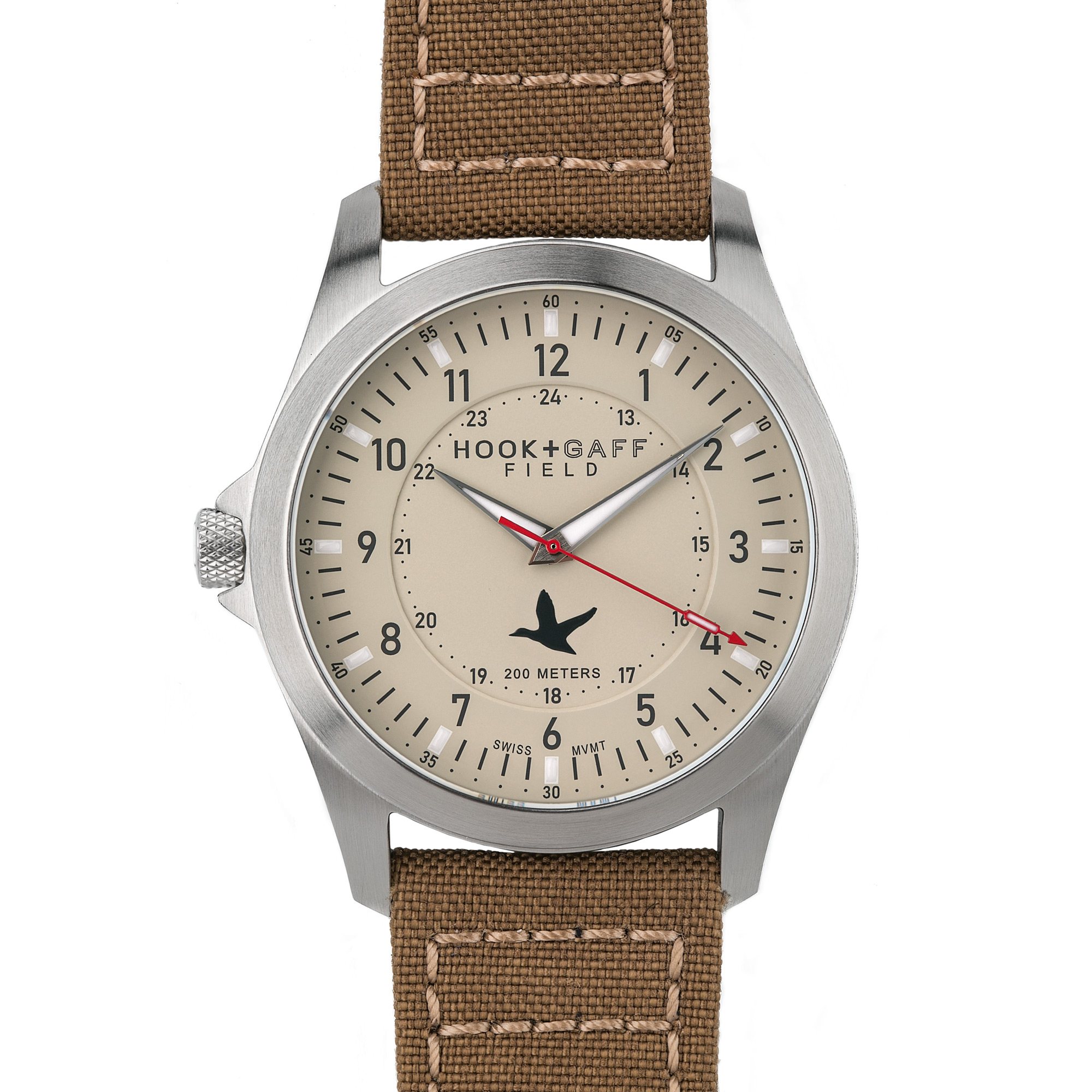 Hook+Gaff Rugged Field Watch