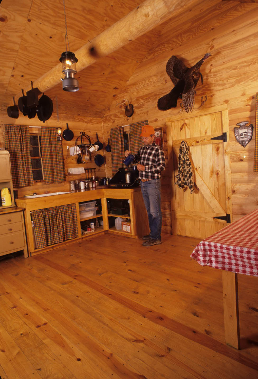 hunting cabin plans