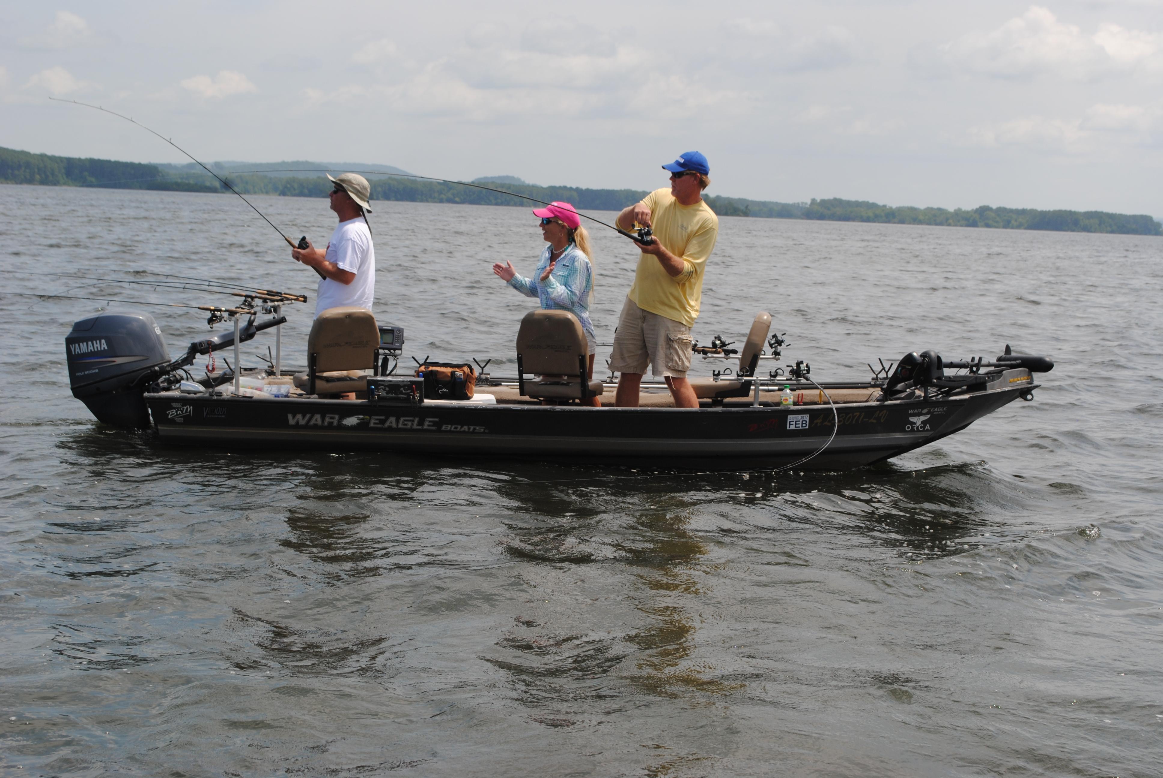 crappie fishing in Alabama Lake Wedowee bear creek