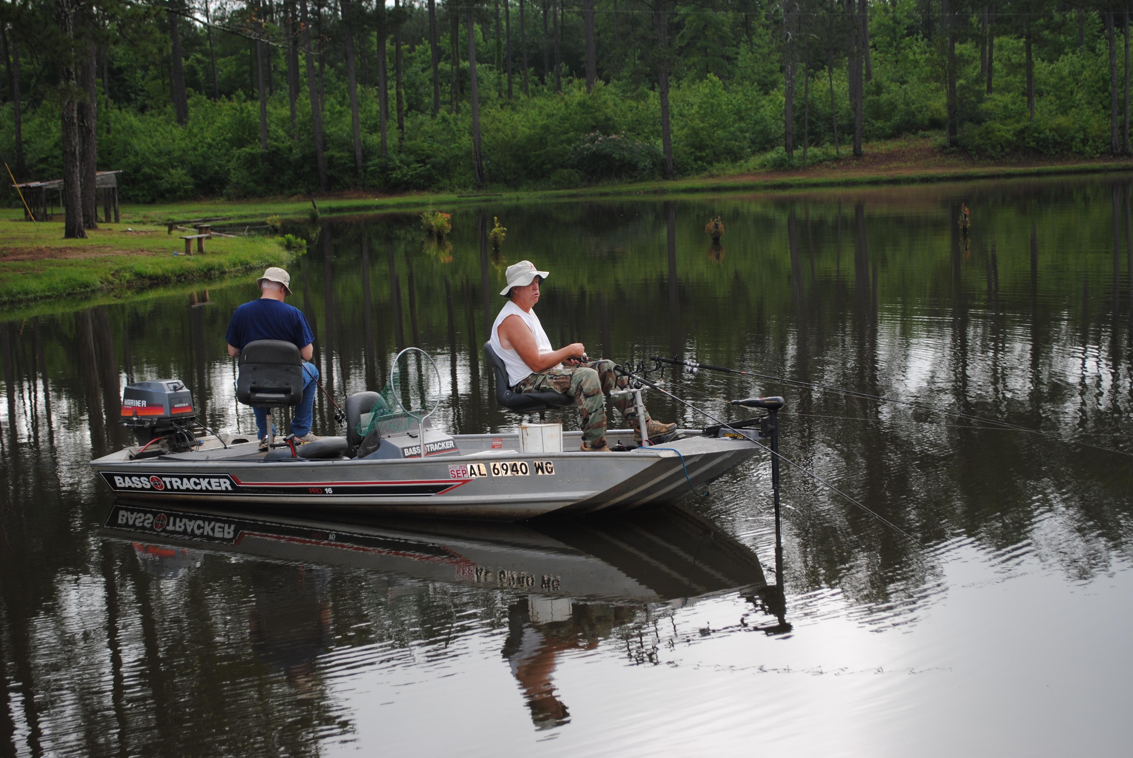 crappie fishing in Alabama bear creek