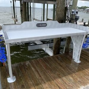 Fish Fillet Table Plans for Boats, Docks, and Portability