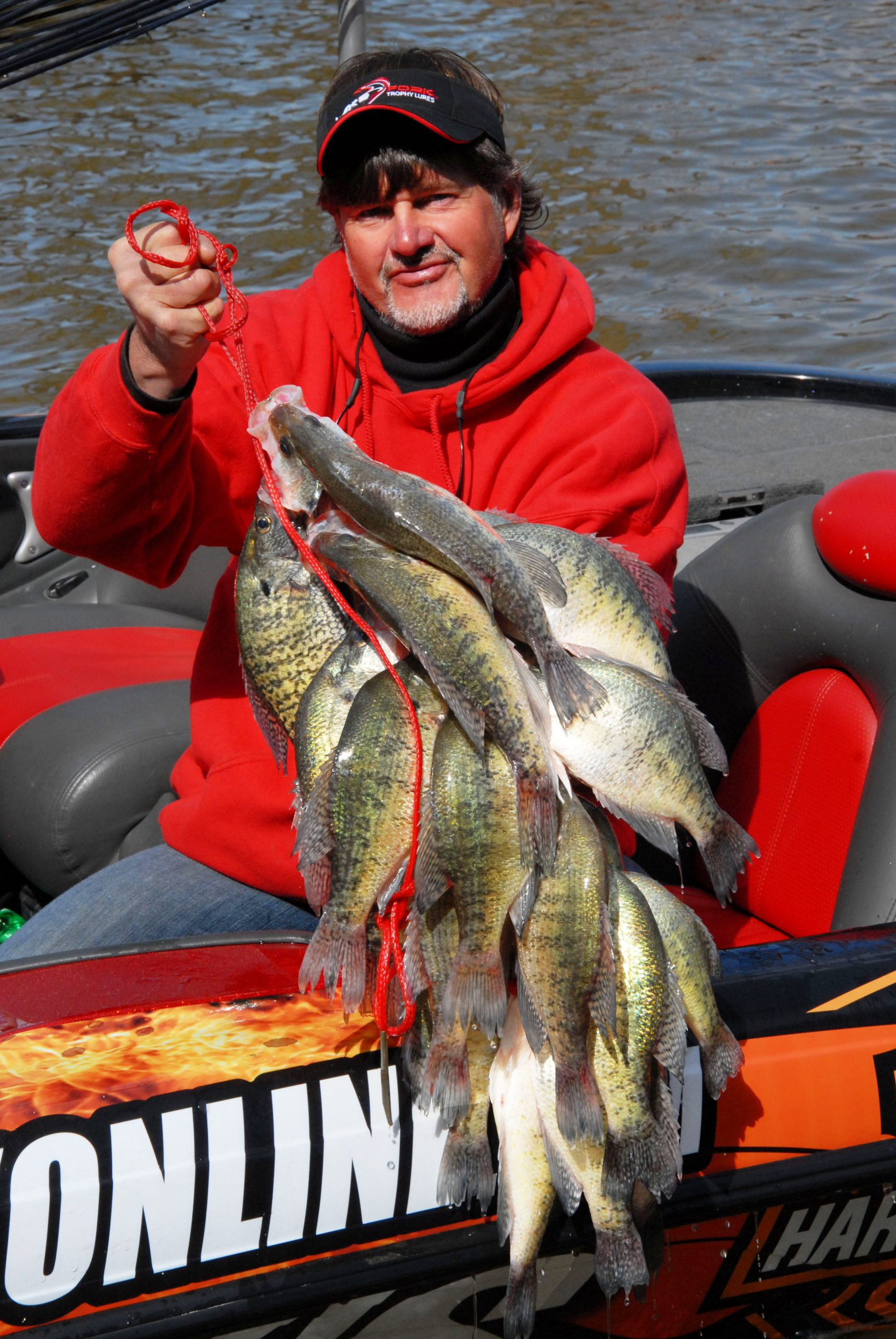 how to catch spawning crappie
