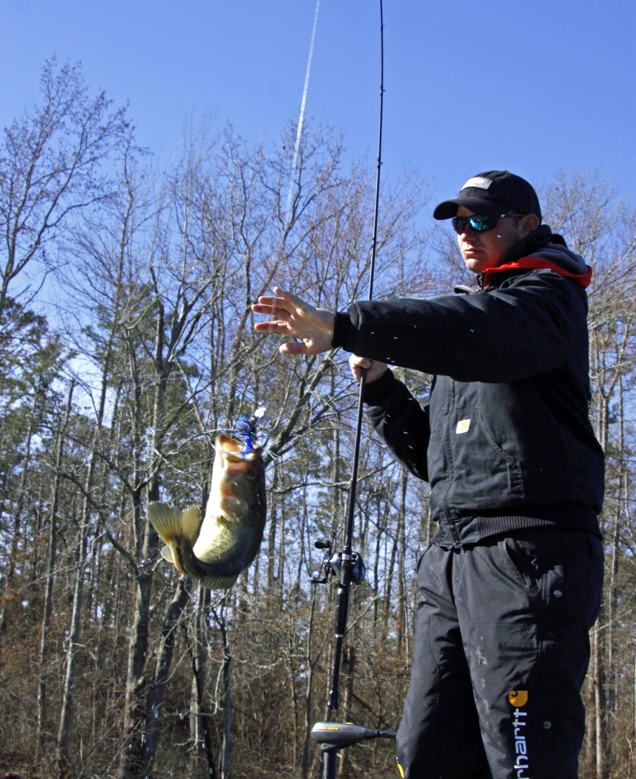 how to fish a chatterbait lure for bass